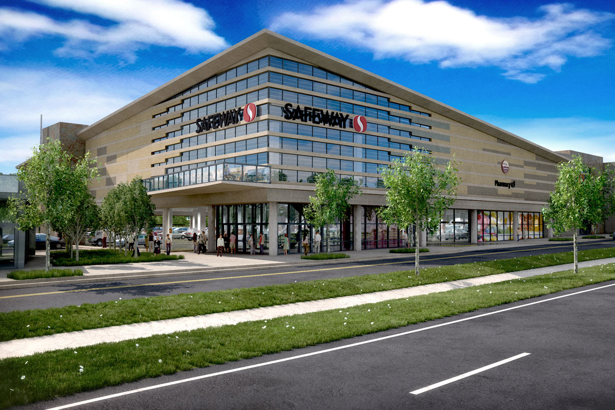 safeway lifestyle store cunningham quill architects