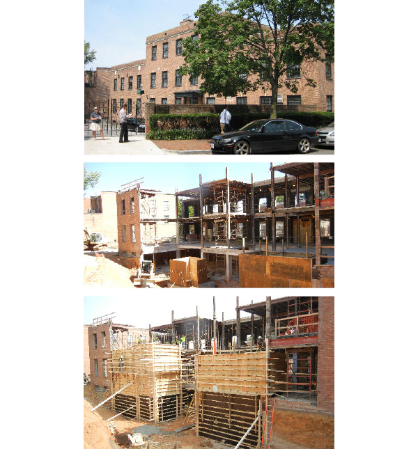 Dumbarton Oaks Fellows Housing - Construction Progress Summer 2013