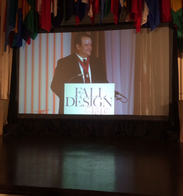 Ralph Cunningham, FAIA at the DC Design Fête