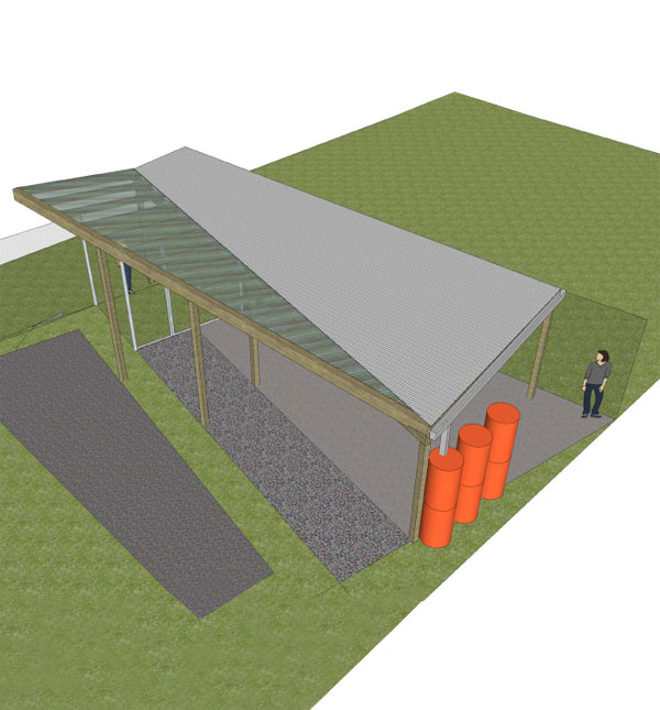 Rendering of the Pavillion at the DCBIA's Community Improvement Day