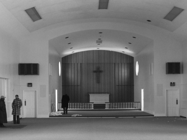 The existing chapel, built in 1955.