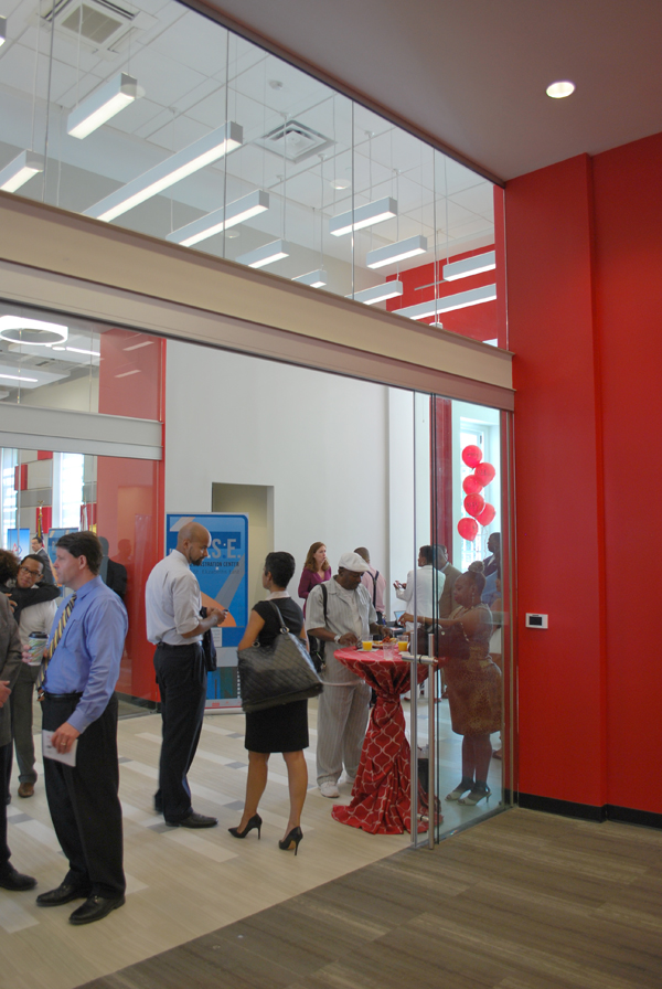 The R.I.S.E. Demonstration Center during the Grand Opening, on Wednesday, August 13, 2014.